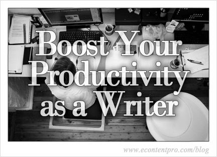 How to Boost Your Productivity as a Scholarly Writer