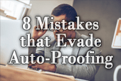 Eight Mistakes That Evade Your Computer's Auto-Proofing